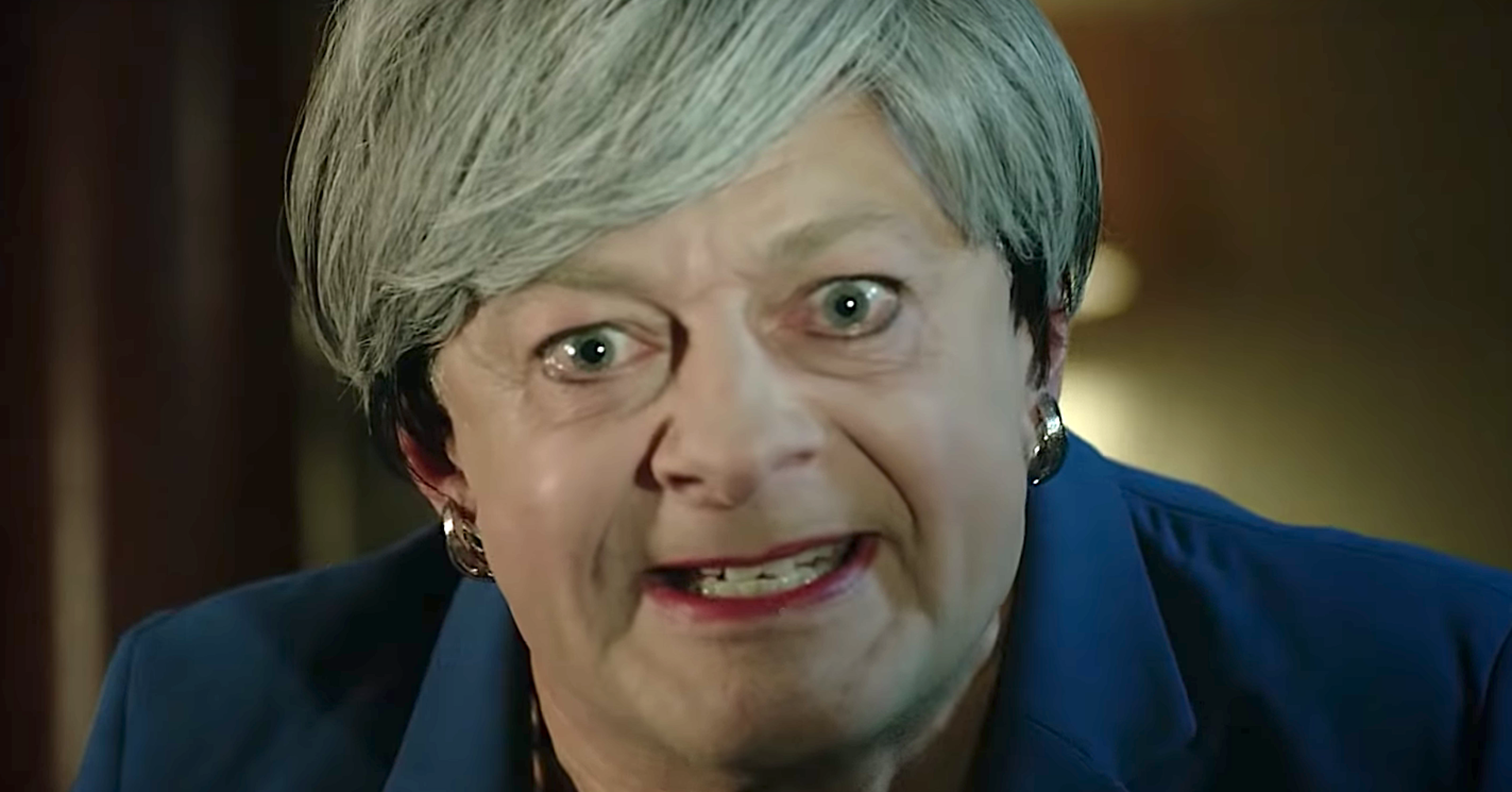 British Pm Theresa May Goes Full Gollum In Precious Andy Serkis