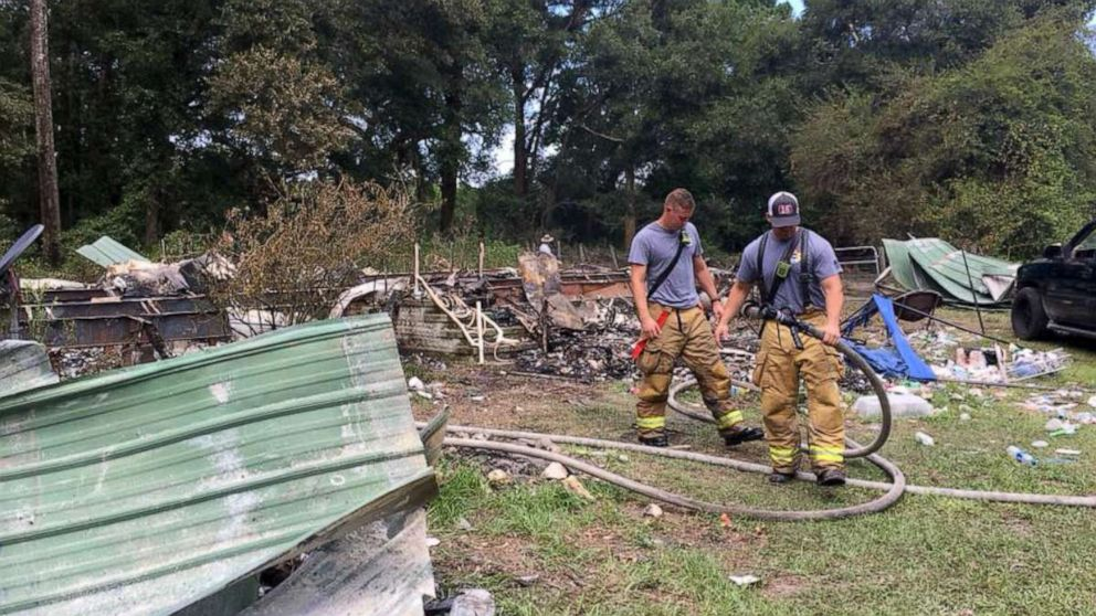 The bodies of Robert Cooper and his wife Ariel Prim were discovered at the scene of a mobile home fire on July 28, 2018.