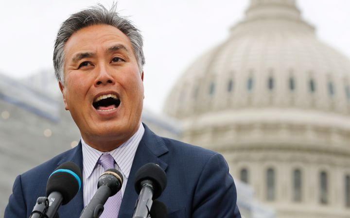 """Rep. Mark Takano (D-Calif.) said he has had people telling him to """"go back to China"""" — even though he's of Japanese anc"""