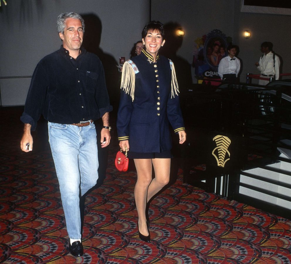 PHOTO: Jeffrey Epstein and Ghislaine Maxwell attend an event in New York City, June 13, 1995.