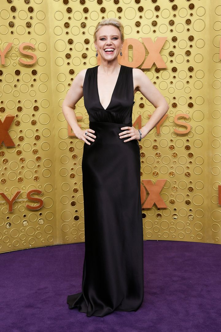 LOS ANGELES, CALIFORNIA - SEPTEMBER 22: Kate McKinnon attends the 71st Emmy Awards at Microsoft Theater on September 22, 2019