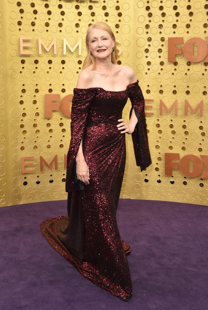 LOS ANGELES, CALIFORNIA - SEPTEMBER 22:  Patricia Clarkson attends the 71st Emmy Awards at Microsoft Theater on September 22,