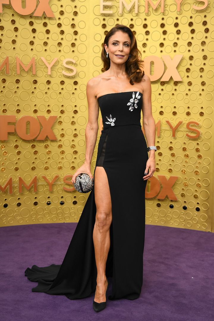 LOS ANGELES, CALIFORNIA - SEPTEMBER 22:  Bethenny Frankel attends the 71st Emmy Awards at Microsoft Theater on September 22,