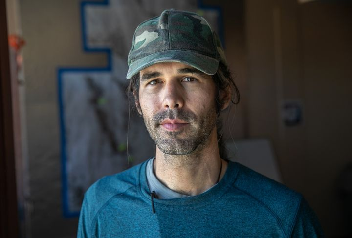 Scott Warren is a volunteer for the humanitarian aid group No More Deaths in Ajo, Arizona.