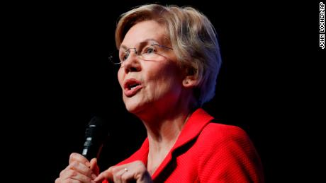 Elizabeth Warren is now the lone female candidate at the top of the 2020 field, and she wants you to know it