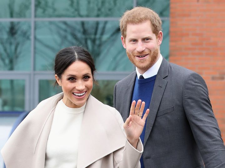 Meghan Markle and Prince Harry in 2018.