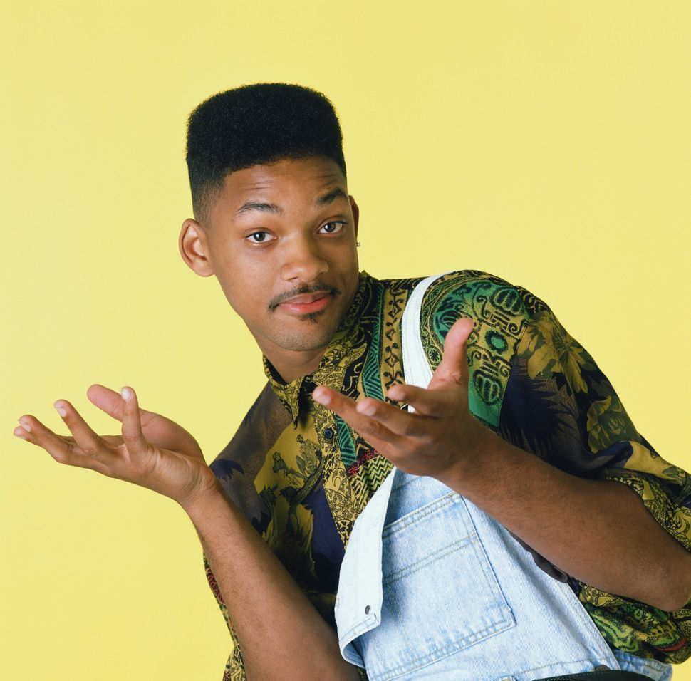"Will Smith as William 'Will' Smith in the ""Fresh Prince of Bel Air."""