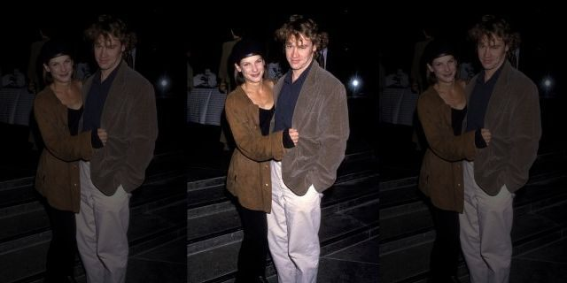 Sandra Bullock and Tate Donovan in the early 1990s.